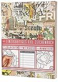 """Mein Zeichenbuch / 136 Seiten, Nummeriert, Inhaltsverzeichnis / Dickes Skizzenbuch / PR601 """"Sticker Wall"""" / DIN A4 Soft Cover"""
