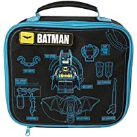 THE LEGO BATMAN MOVIE KIDS BOYS VIAJES ESCOLARES BOLSO DE ALMUERZO AISLADO 9027