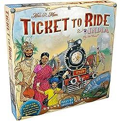 Days of Wonder 811774 - Ticket to Ride India Zug um Zug