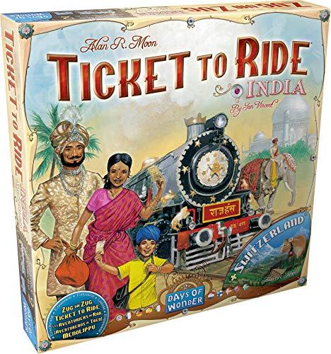 Asterion 8502 Ticket To Ride India (è un'espansione), Edizione Italiana