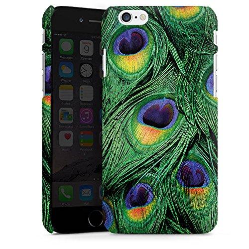 Apple iPhone 6 Housse Étui Silicone Coque Protection Paon Ressorts Jungle Cas Premium mat