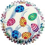 PME - Pirottini di Carta per Cupcake e Muffin, Fantasia Uova Piccole, 60 Pezzi