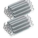 ms-point Ersatz Trampolin Spiral Federn für Outdoor-Trampoline Gartentrampoline Fittness-Trampoline Lange: 165mm / 21mm Ø (24 Stück)