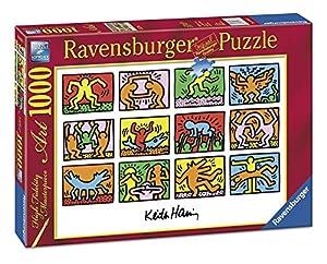 Ravensburger - Puzle (1000 Piezas), diseño de Keith Haring