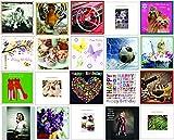 Geburtstags- und Grußkarten, verschiedene Motive, 20 Stück