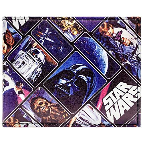 Star Wars Original Trilogy Blau Portemonnaie Geldbörse