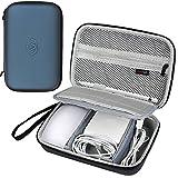 COMECASE Travel Hard Case Tasche Hülle für Apple Magic Maus, Apple Pencil, MagSafe Ladegerät Netzteil, Ladekabel Lightning USB Kabel und Mehr