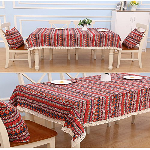 Generic 10, 150CM180CM : 1pcs SEWING Cotton and linen tablecloths...