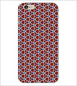 PrintDhaba Pattern D-5168 Back Case Cover for APPLE IPHONE 6S PLUS (Multi-Coloured)