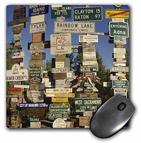 Danita Delimont - Signs - Canada, Yukon Territory, Sign post at Watson Lake-CN12 BJA0000 - Janyes Gallery - MousePad (mp_75150_1)