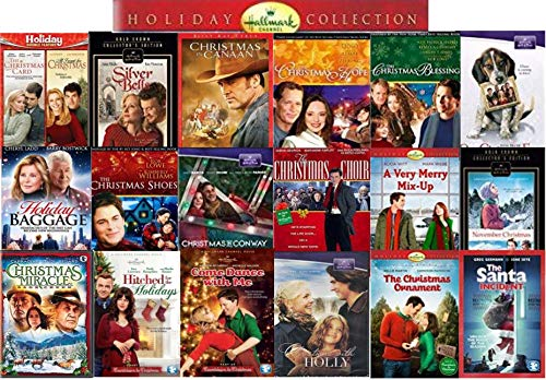 Ultimate 19 Movie Hallmark Holiday Collection DVD - Christmas Card/ Silver Bells/ All I want for Christmas/ Christmas Hope/ One Christmas Eve/ November Christmas/ Christmas Ornament & More -