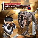 EsportsMJJ VR Park V3 3D Gafas Realidad Virtual 3D Video Películas Juego Gafas DE 4.0-6.0 Pulgadas Smartphone