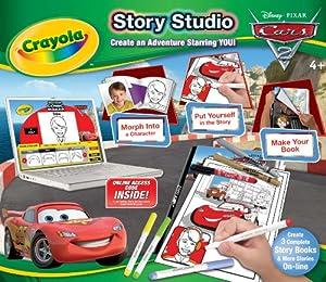 CRAYOLA Vivid Imaginations Cars 2 - Juego para Colorear y dibujarse a uno Mismo en un cómic