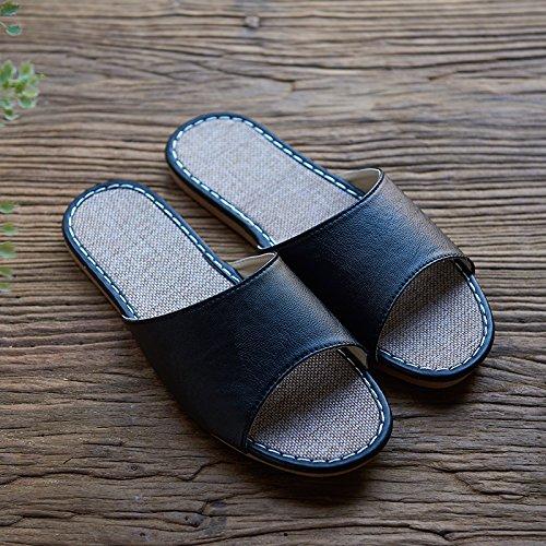 l'estate di lino pantofole,44 - 54 può rossa del caffe '. 40 41 Rosa