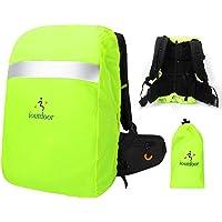 ioutdoor Regenschutz für Rucksäcke Schulranzen mit Reflektor, wasserdichte Regenhülle Rucksack