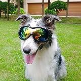 Haustierbrillen Großer Hund Sonnenbrille Skifahren Sonne UV Schutzbrille mit abnehmbaren waschbaren Riemen für Hunde - Kailian