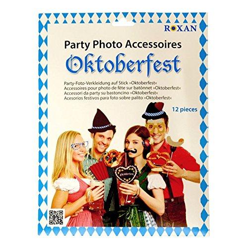 Oktoberfest Photo Booth - Volksfest Foto Verkleidung Foto Requisite Party - 6