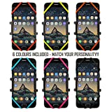 [NEW 2018 PREMIUM EDITION!!] Anti-Shake Universal Phone Holder Mount for Bike, Bicycle, Motorbike, Mountain Bike, 360° Rotation, All handlebars – iPhone, Samsung, Google, Sony, Huawei, LG, etc – 6 COLOURS INCLUDED!!