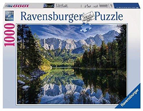 Ravensburger-19367-Eibsee-mit-Wettersteingebirge-und-Zugspitze
