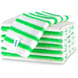 MR.SIGA Bamboo Fiber Cleaning Cloths, Kitchen Dish Cloths, Reusable Dish Rags, Pack of 12, Size:23 x 18 cm