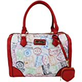 ALVIERO MARTINI ALV Borsa con traccola - bag with shoulder by donna- 29,5X21X17 Cm