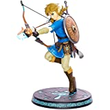 First 4 Figures Legend Zelda: Breath of the Wild Link With Bow Statua dipinta in PVC, 607353b