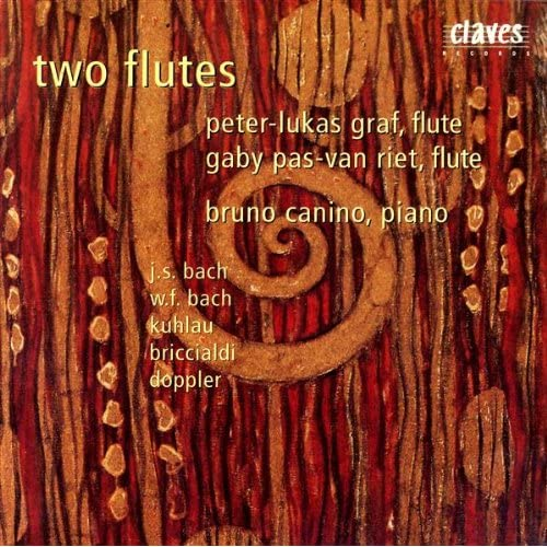 Trio in G Major for Two Flutes & Piano, Op. 119: Adagio patetico
