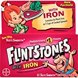 Flintstones Children'S Multivitamin Plus Iron Chewable Tablets 60-Count from BAYER CONSUMER PRODUCTS.