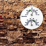 Weinkeller Wein Thermometer und Hygrometer . Bimetall Analog Önometer Weinthermometer - 2