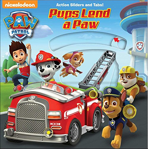 Paw Patrol: Pups Lend a Paw (Paw Patrol - Action Sliders and Tabs!) por Tbd