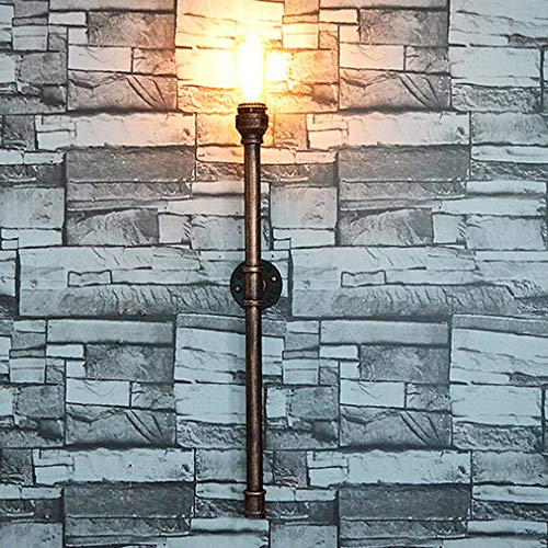 eative Wasserleitung Wandleuchte Nachttischlampe Spiegel Scheinwerfer Bad Beleuchtung Zubehör Wohn Licht Wand Garten Luxus Villa Patio Gang Landschaft Ländlichen Metall E27 Bronze ()