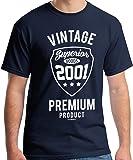 18 Geburtstag Junge Vintage 2001 T-Shirt