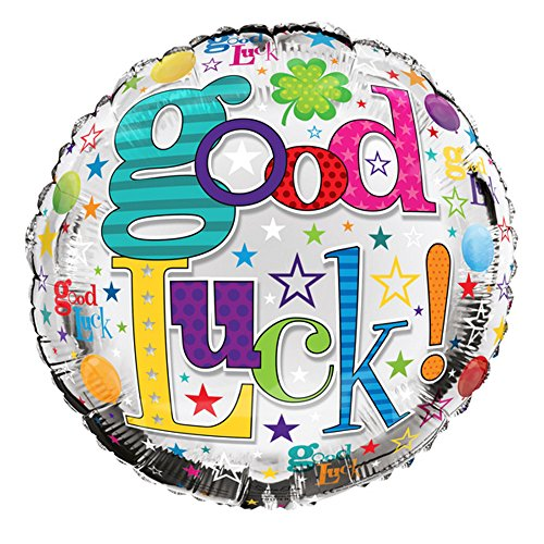 Simon Elvin - Ballon Good Luck (46 cm) (Taille unique) (Multicolore)