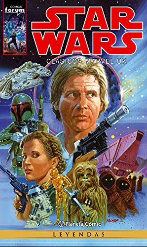 Descargar Libro Star Wars Clásicos Marvel UK de AA. VV.