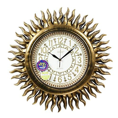 Sunjun Retro Wanduhr Creative Quarz Uhr Wanduhr Schlafzimmer Stumm Taschenuhr Handwerk -