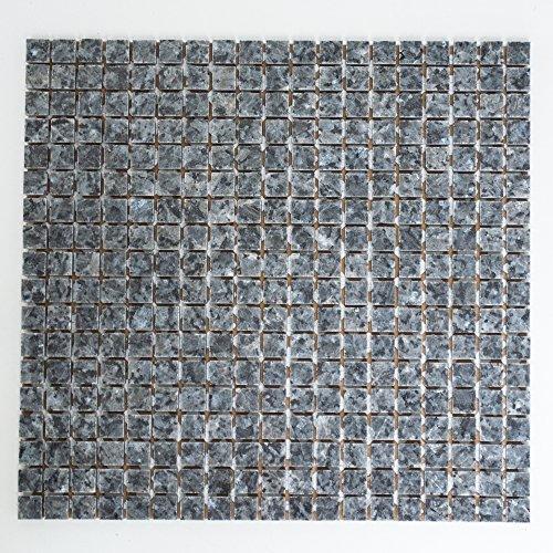 Fliesen Mosaik Mosaikfliese Granit Blue Pearl Küche Bad WC Boden 8mm NEU #278 -