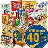 Wilkommen im Club 40 | Geschenk Süß DDR | Geburtstag 40 Freundin