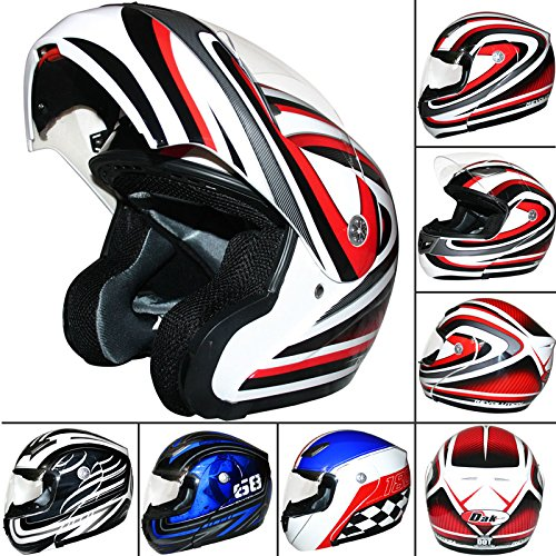 dak-ff936-flip-up-front-helmet-white-red-xxl-scooter-motorbike-motorcycle-crash-helmet