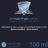PROTOMAX Nano Antibeschlag Spray (Antifog) fürs Auto: Autoscheiben, Windschutzscheibe, Auto innen...