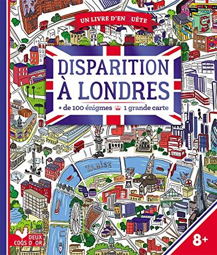 Disparition à Londres - livre avec carte par Les Fées Hilares