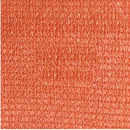 DUO Voiles d'ombrage Voile d'ombre de Sun de bloc de sable de triangle de 3 × 3 × de 3m 3M parfait pour le jardin extérieur de patio (Couleur : Rouille rouge)