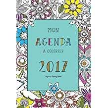 Agenda à colorier 2017