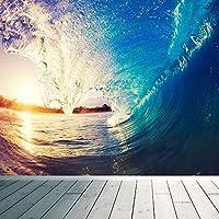 Tropical Island, motivo: onda da Surf Komar-Carta da parati, spiaggia, paradiso, XX Large 3000mm x 2400mm