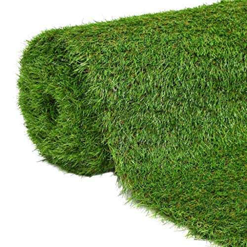 vidaXL Gazon Artificiel 1x15 m/40 mm Vert Tapis de Gazon Pelouse Synthétique