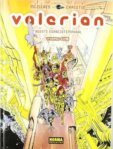 VALERIAN, AGENTE ESPACIOTEMPORAL 3 (CÓMIC EUROPEO) por Jean-Claude Mézières