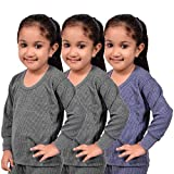 #5: Red Fort Thermal Top Grey and Blue Color for Boys and Girls - Pack of 3