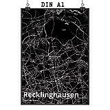 Mr. & Mrs. Panda Poster DIN A1 Stadt Recklinghausen Stadt