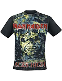 Iron Maiden Aces High T-Shirt black M