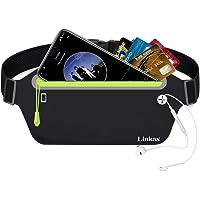 Linkax Marsupio Sportivo Running Impermeabile Porta Cellulare per Uomo e Donna con Tasca Cintura da Corsa per…