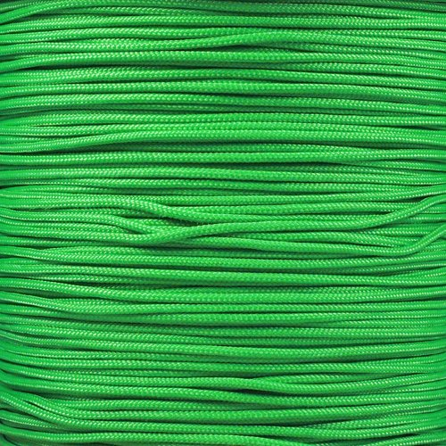 10 M Kelly Green (Paracord Planet Micro 90 Cord, 95 Type 1 Cord and 275 Paracord - Crafting - Various lengths and colors - USA Made)